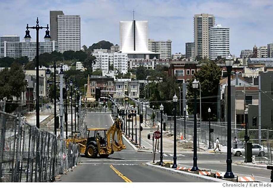 San francisco octavia boulevard rolls along oakland for Design firms san francisco