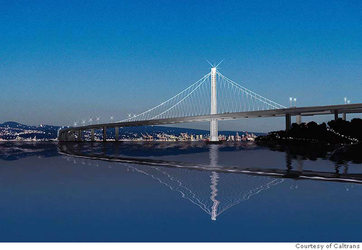 Proposed Bay Bridge art. Photo: Courtesy of Caltrans