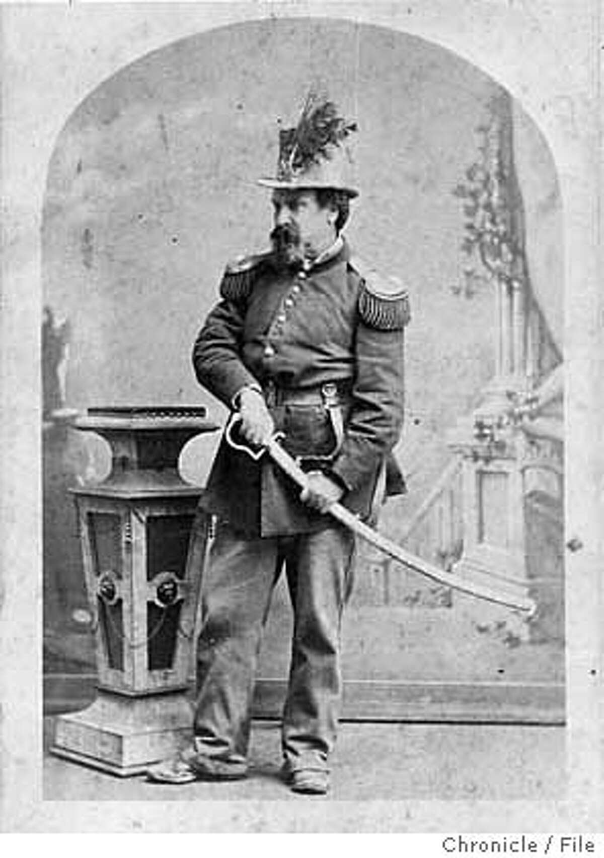Emperor Norton, San Francisco gadfly and civic visionary. Chronicle file photo