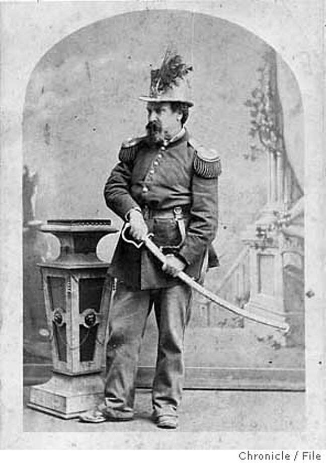 Emperor Norton, San Francisco gadfly and civic visionary. Chronicle file photo Photo: WILLIAM YOUNG