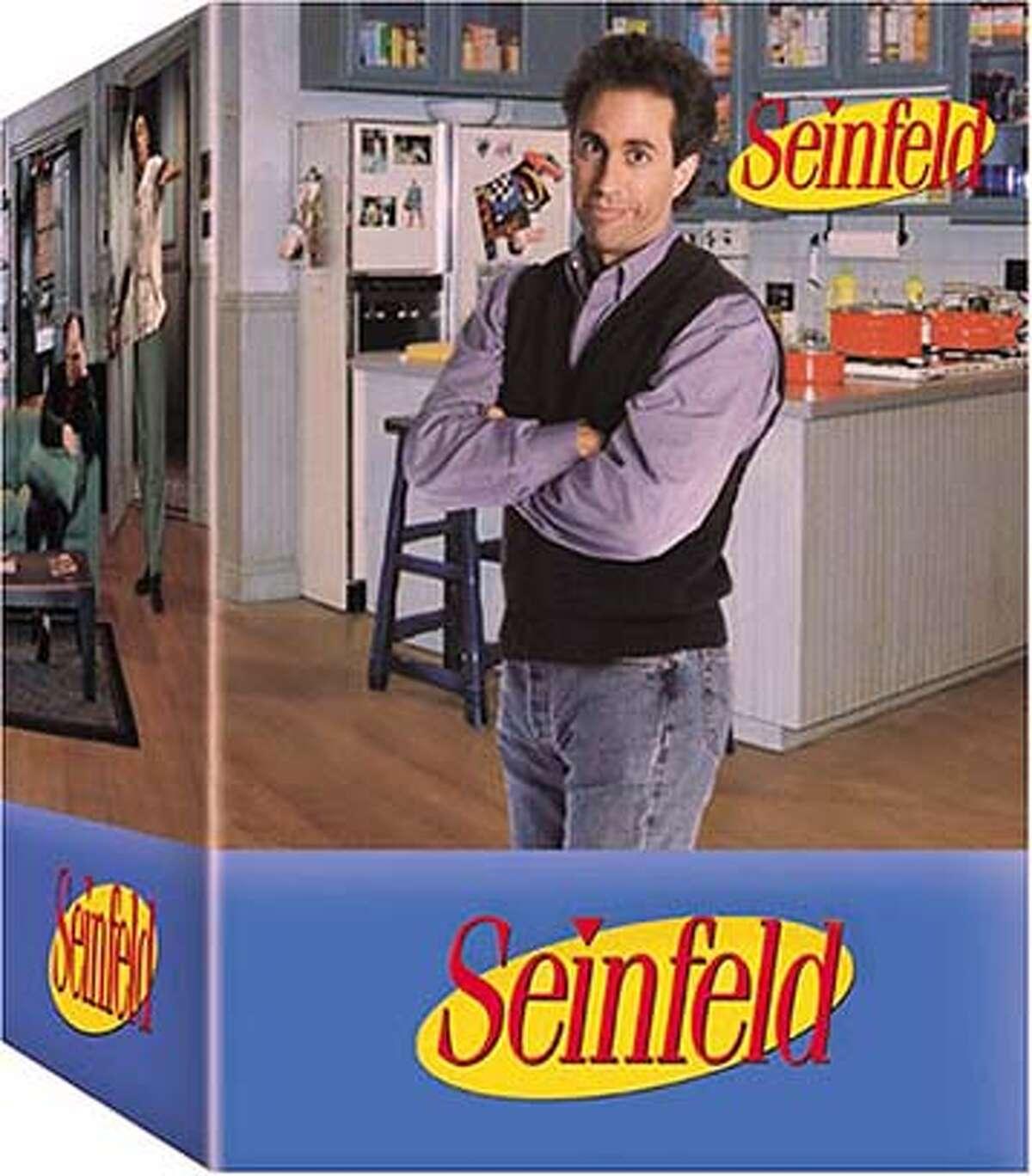 DVD cover art for Seinfeld, DVD.