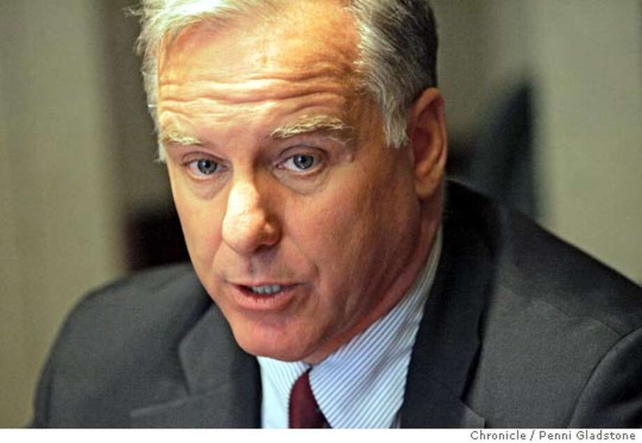 DEAN06_079_PG.JPG Howard Dean, the chairman of the Democratic National Committee who is in town doing a fundraiser today.  The San Francisco Chronicle, Penni Gladstone  Photo taken on 6/6/05, in San Francisco, Photo: Penni Gladstone