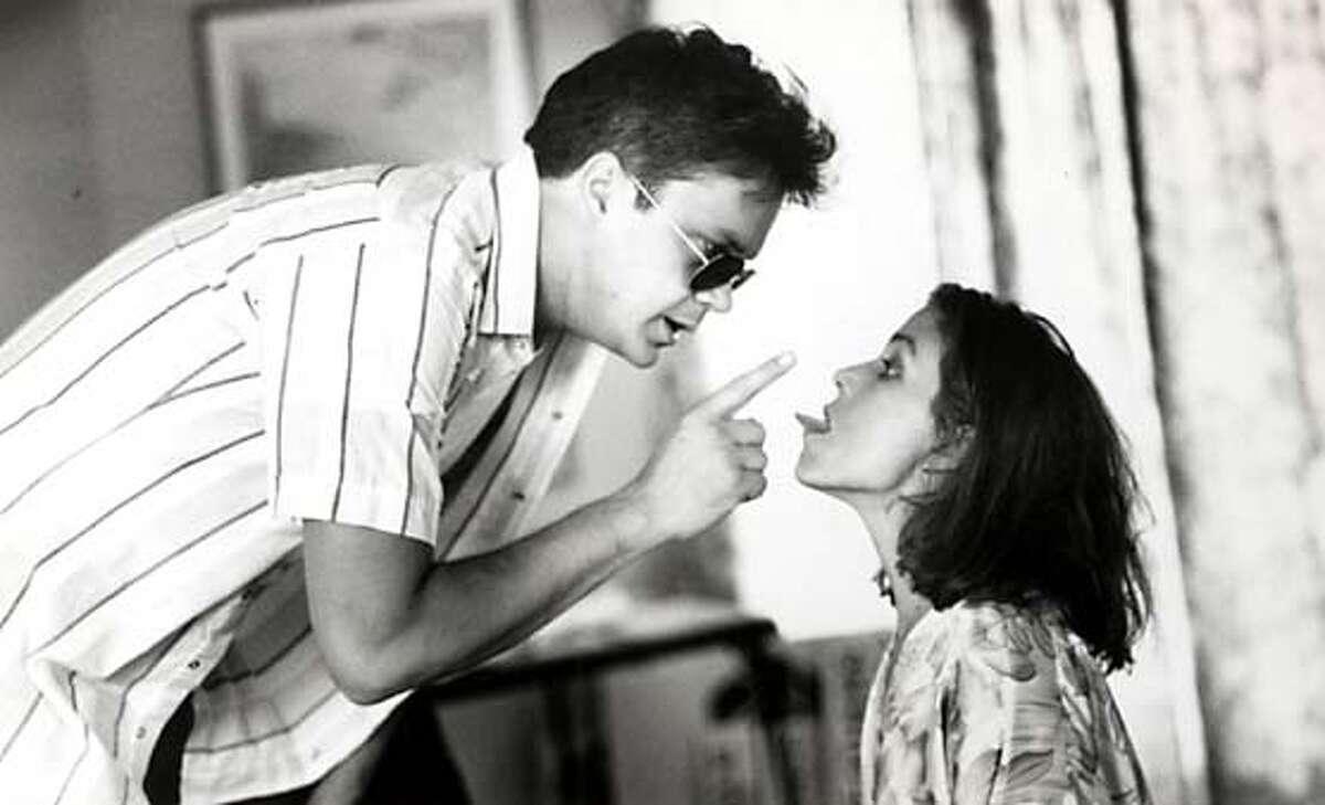 "Tim Robbins and Frances McDormand in ""Short �uts"" 1993 Datebook#Datebook#SundayDateBook#12-12-2004#ALL#Advance##0422487074"