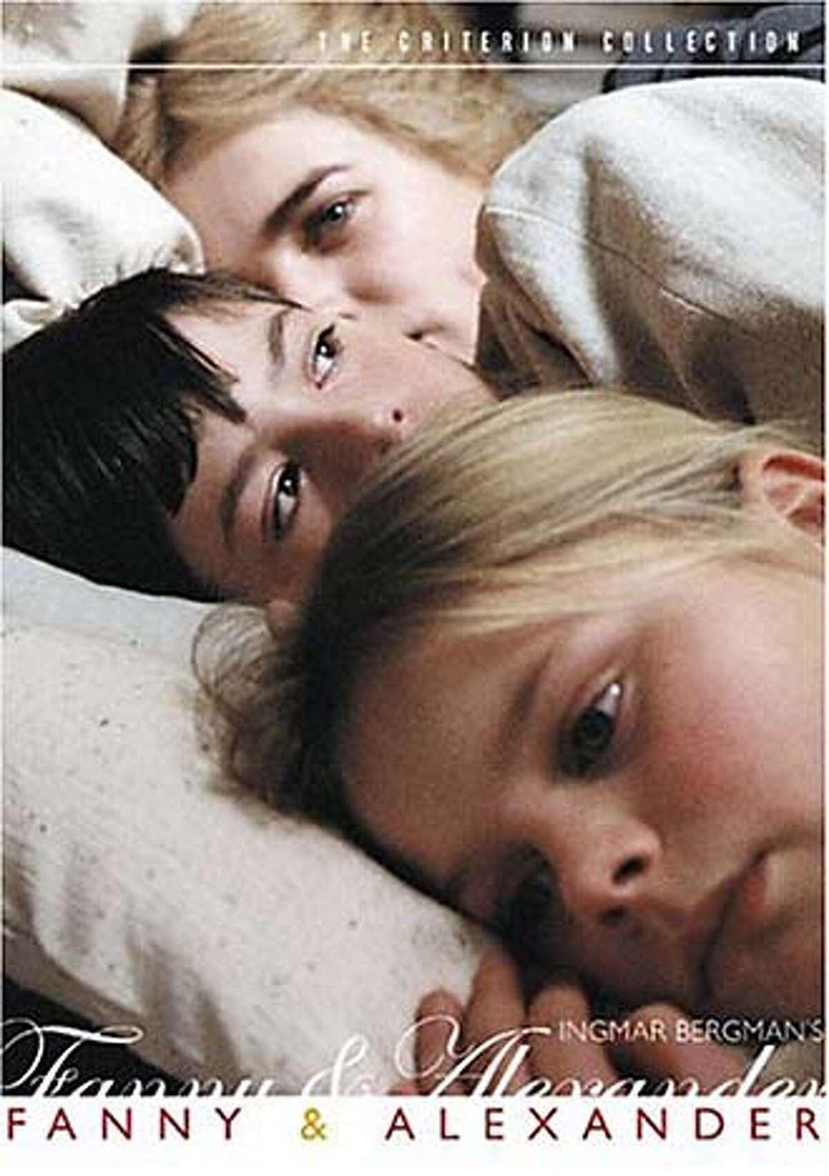 """DVD cover art for, """"Fanny & Alexander"""". Datebook#Datebook#SundayDateBook#12-12-2004#ALL#Advance##0422491656"""