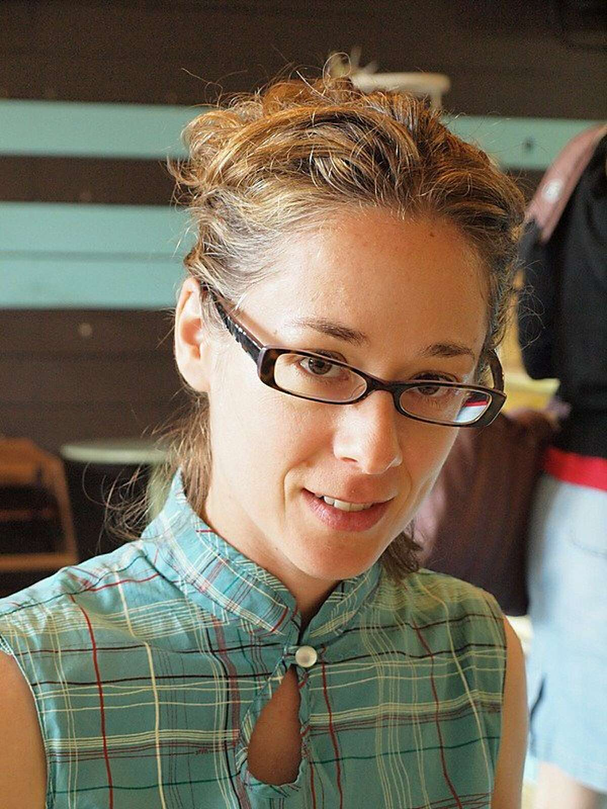 "Sara Levine, author of ""Treasure Island!!!"""