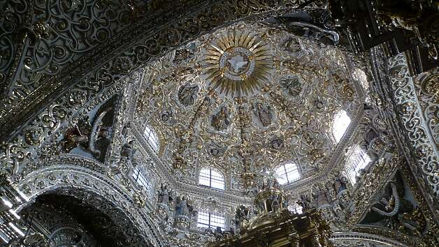 The Dome of Rosario Chapel in Puebla, Mexico Photo: Jill K. Robinson, Special To The Chronicle