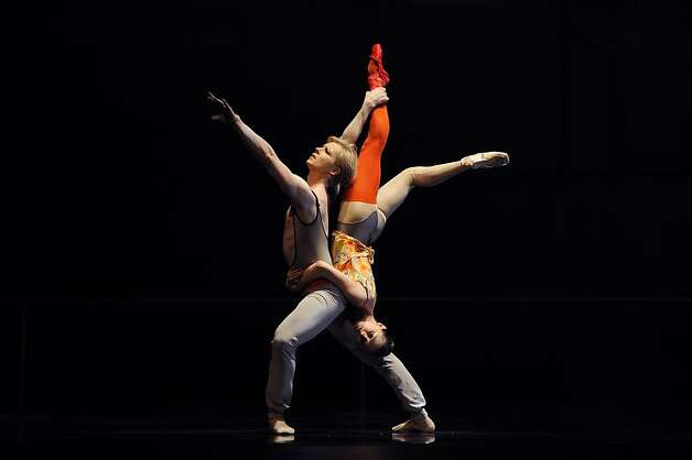 Sarah Van Patten and Tiit Helimets in Bintley's The Dance House. Photo: Erik Tomasson, SF Ballet