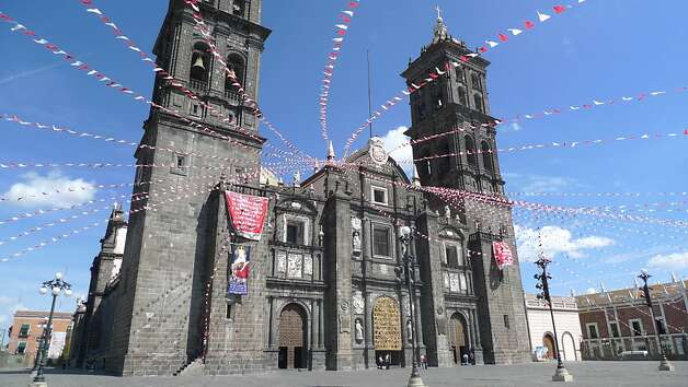 The Cathedral of Puebla, Mexico Photo: Jill K. Robinson, Special To The Chronicle