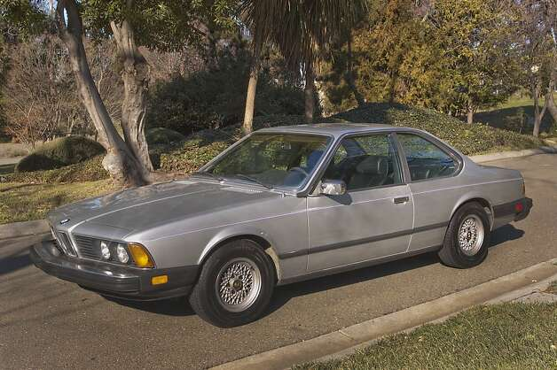 Plan B was the 6 Series coupe. I found a 1980 633CSi, with just about everything I wanted, for sale in Marin County. The car was painted silver, had black leather interior, sunroof and a manual transmission. Photo: Stephen Finerty