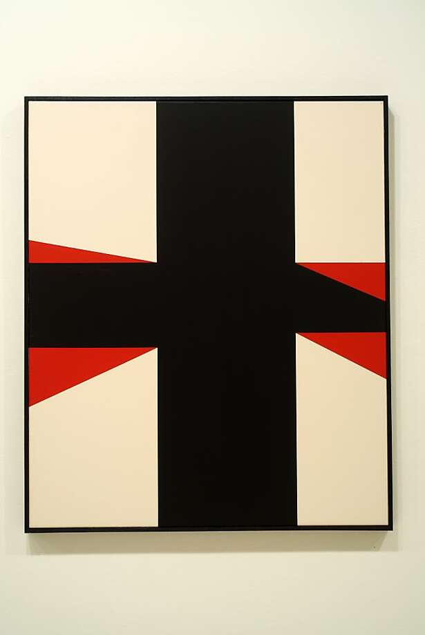 """""""Untitled (CR12006)"""" (2012) acrylic on canvas by Clare Rojas"""