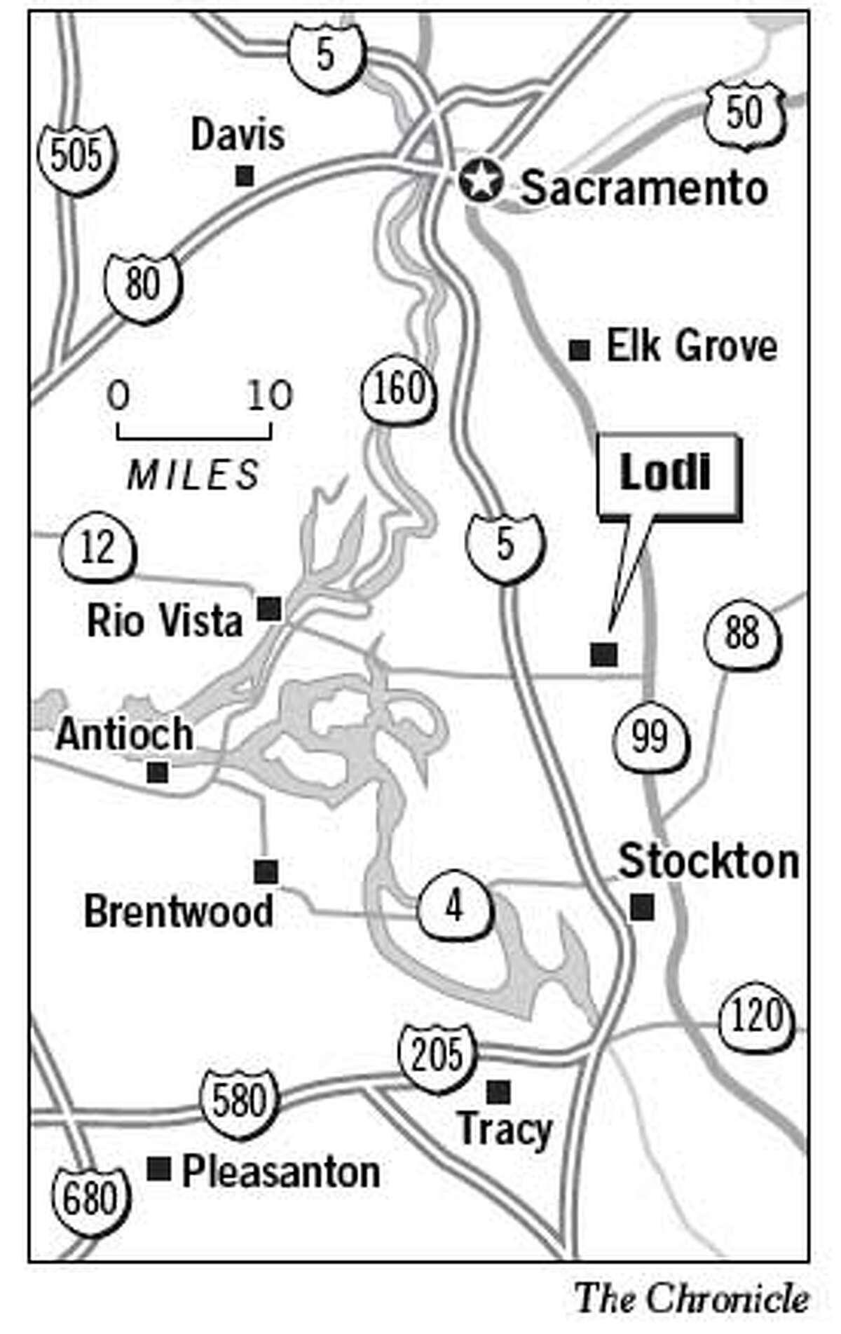 Lodi. Chronicle Graphic