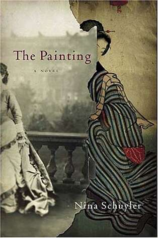"Book cover art for ""The Painting"""