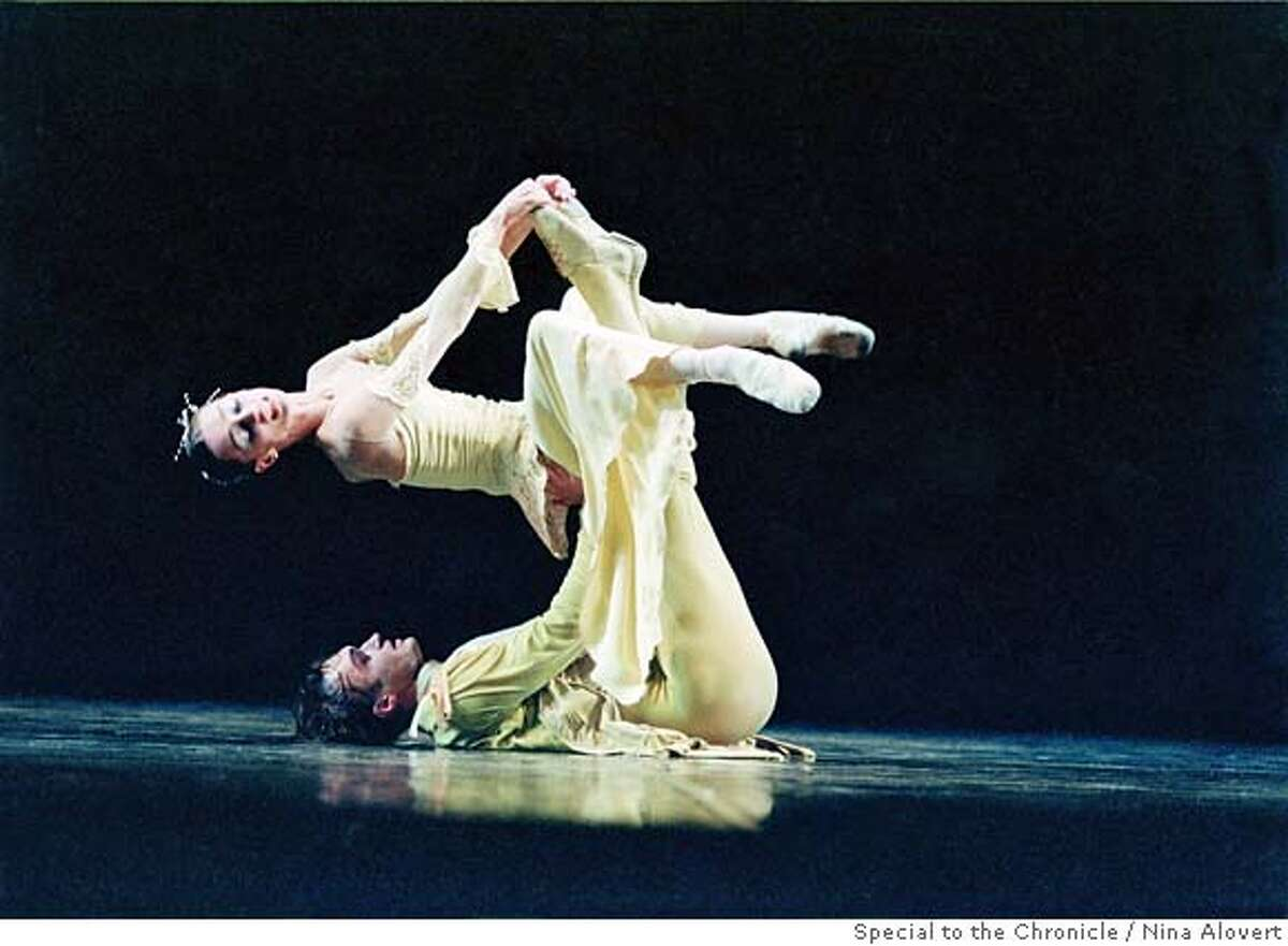 classical05_PH1.JPG Widely considered Russia's greatest living choreographer, Boris Eifman brings his St. Pertersburg troupe Eifman Ballet to Cal Performances June 8-12, 2005.�This is a scene from Eifman's