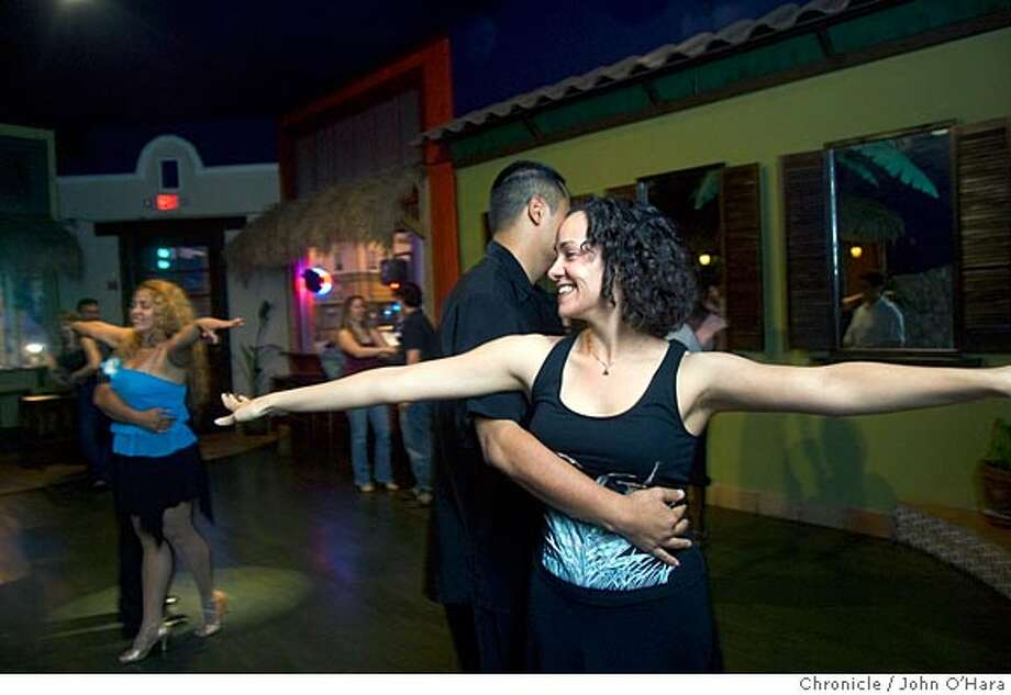 ClubMontero's, 1106 SolanoAve.  Alex(right) andAndrew Parks  Joel Lunzaga, and Sorcy Jimenez teach Salsa lessons, thursday, friday and saturday night.  Photo/John O'Hara Photo: John O'Hara