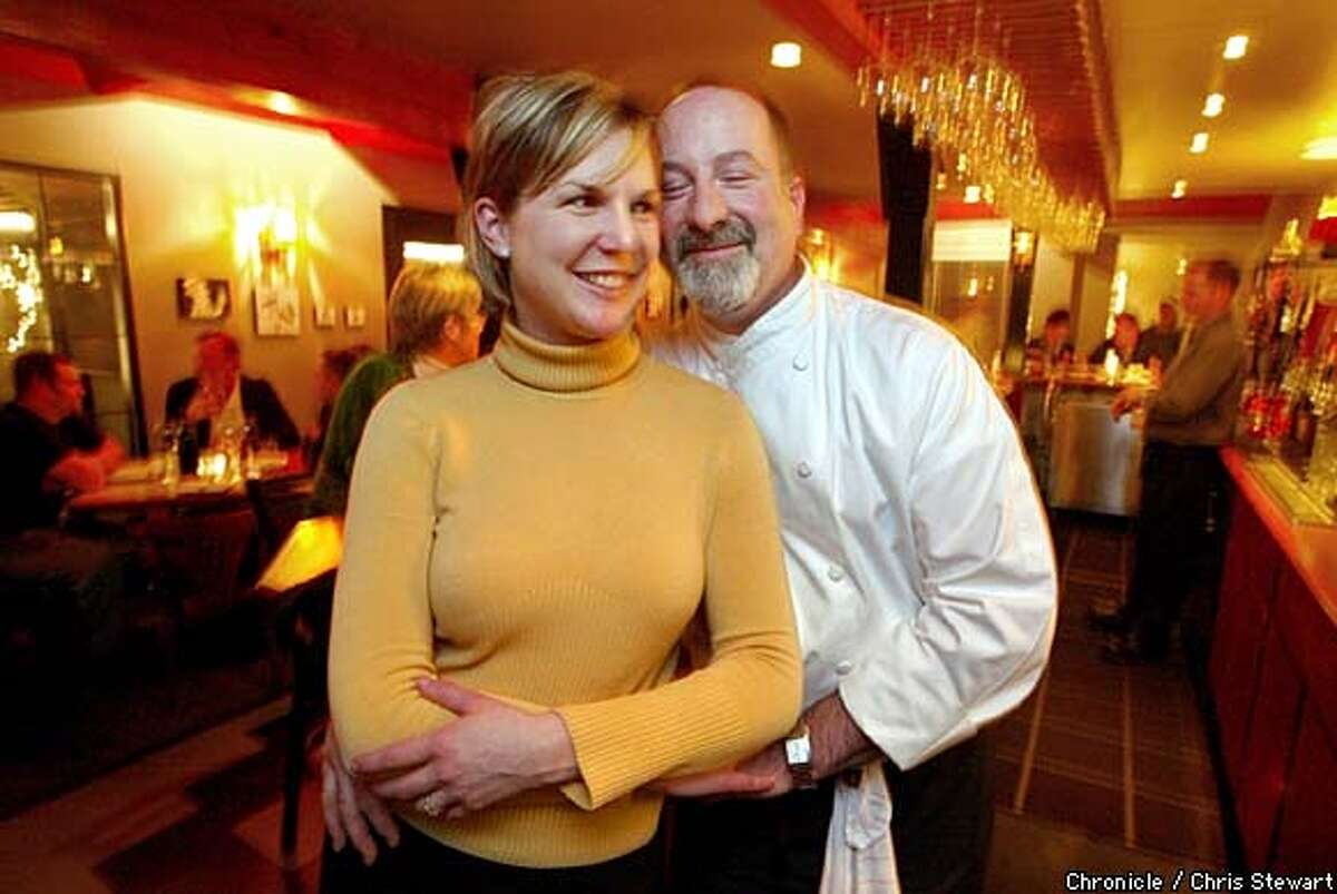 Terri and Mark Stark, owners of Willi's Wine Bar, 4404 Old Redwood Highway. BY CHRIS STEWART/THE CHRONICLE