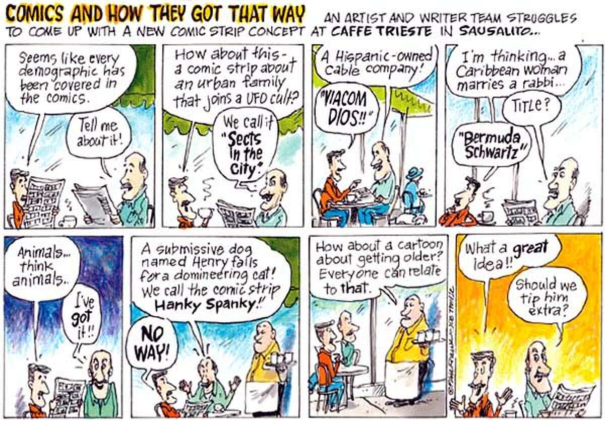Comics and How They Got That Way. Chronicle comic by Phil Frank