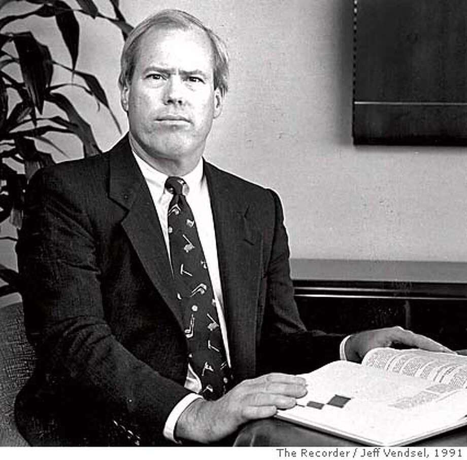 "** FILE ** Lawyer John D. O'Connor is seen in this photo from 1991. O'Connor wrote a magazine article for Vanity Fair about the confidential Watergate source known as ""Deep Throat."" W. Mark Felt, a former FBI official, was quoted in the article as telling O'Connor, ""I'm the guy they used to call Deep Throat."" The Washington Post confirmed his claim. (AP Photo/The Recorder, Jeff Vendsel) MAGS OUT MANDATORY CREDIT Photo: JEFF VENDSEL"