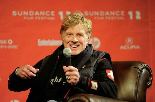 Sundance Institute President and Founder Robert Redford speaks at the opening day press conference held at the Egyptian Theatre during the 2012 Sundance Film Festival on January 19, 2012. Photo: Jemal Countess, Getty Images / 2012 Getty Images
