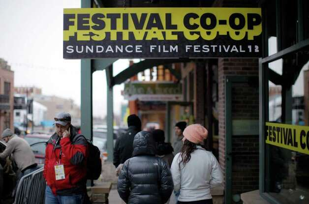 A view of Main Street in Park City, Utah as local businesses prepare for the 2012 Sundance Film Festival. Photo: Jemal Countess, Getty Images / 2012 Getty Images