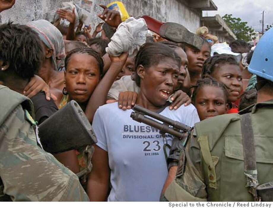 Image from Haiti Photo: Reed Lindsay, Special To The Chr