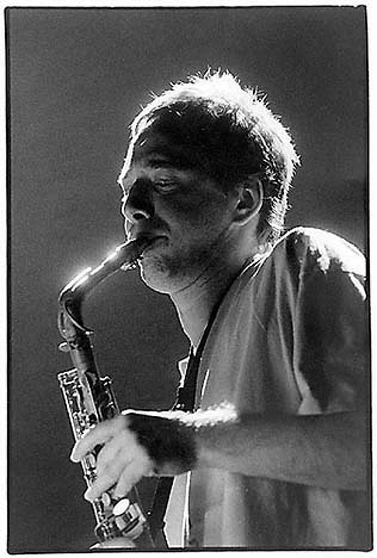 saxophonist composer John Zorn