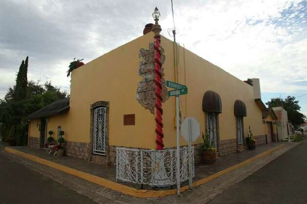 The tiny Texas town of San Ygnacio is full of quaint, historic buildings with a Spanish colonial motif. Residents there fear that plans by Tx Energy Services to begin disposing of oil field waste on a site less than a mile from the town will degrade the quality of life in San Ygnacio. Photo: JOHN DAVENPORT, SAN ANTONIO EXPRESS-NEWS / SAN ANTONIO EXPRESS-NEWS (Photo can be sold to the public)