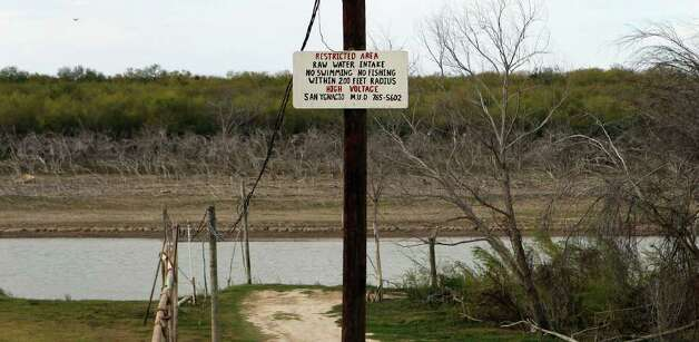 San Ygnacio, Texas draws water from the nearby Rio Grande River. Residents there are upset because of Tx Energy Service's plans to begin disposing of oil field waste on a site less than a mile from the historic town. Photo: JOHN DAVENPORT, SAN ANTONIO EXPRESS-NEWS / SAN ANTONIO EXPRESS-NEWS (Photo can be sold to the public)