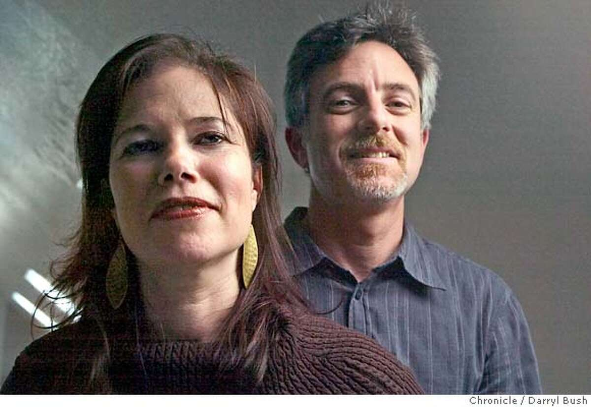 russes_060a_db.jpg Dayna Goldfine and Dan Geller filmmakers in their office. Their most recent documentary is on the Ballets Russes. 8/7/04 in San Francisco Darryl Bush / The Chronicle MANDATORY CREDIT FOR PHOTOG AND SF CHRONICLE/ -MAGS OUT Datebook#Datebook#Chronicle#12/2/2004#ALL#5star##0422241372