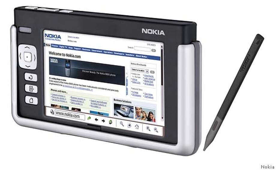 This is an undated photo provided by Nokia Corp. of the Nokia 770 Internet Tablet. The device introduced Wednesday, May 25, 2005, is based on the open-source Linux operating system. (AP Photo/HO/NOKIA