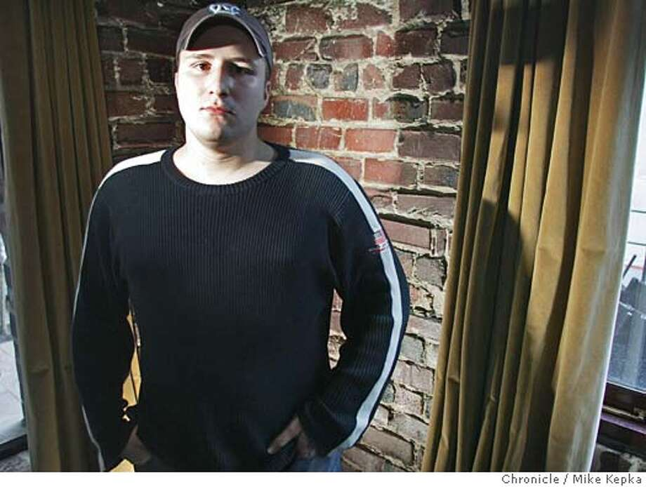 Napster founder Shawn Fanning's latest venture in the internet music world is called Snocap. 12/2/04  Mike Kepka/The Chronicle Photo: Mike Kepka