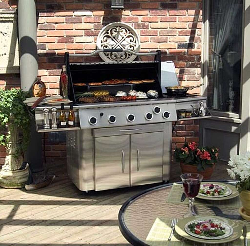 the suv of the backyard today u0027s grills have to be able to feed a