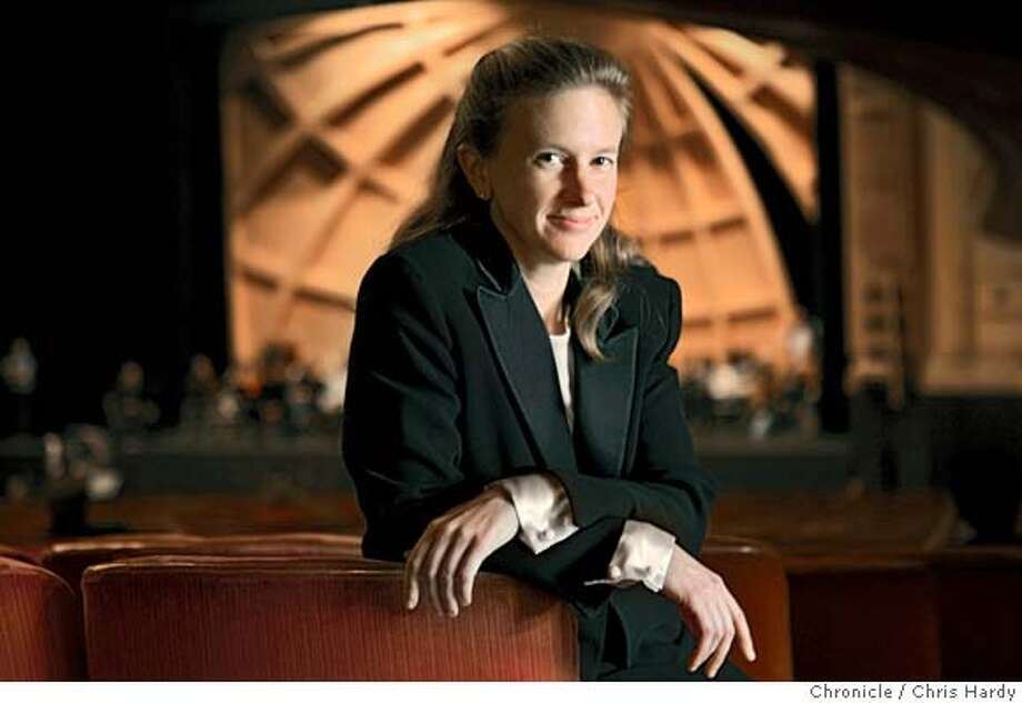 111804_jobin_ch079.jpg  Conductor Sara Jobin, first woman to conduct at SF Opera. in San Francisco,CA on 11/18/04  San Francisco Chronicle/Chris Hardy MANDATORY CREDIT FOR PHOTOG AND SF CHRONICLE/ -MAGS OUT Datebook#Datebook#Chronicle#11/30/2004#ALL#5star##0422473668 Photo: Chris Hardy