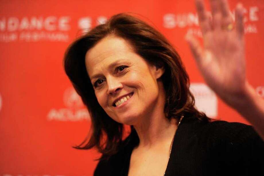 Sigourney Weaver. In case the real Martians are not so nice and the new Martians need protecting from the old. Photo: Frazer Harrison, Getty Images / 2012 Getty Images