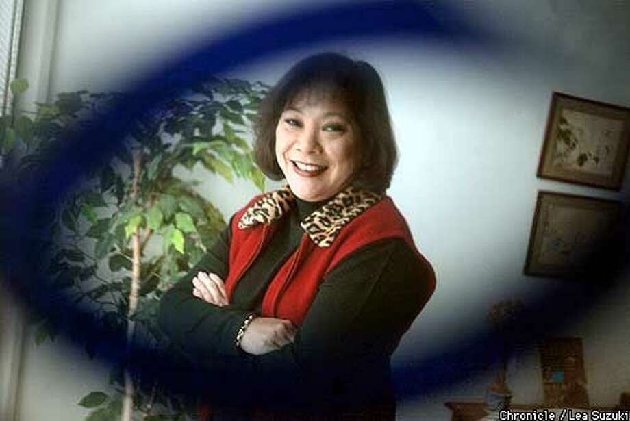 FILIPINAS1-C-04DEC02-MT-LS ----Filipinas Magazine publisher Mona Lisa Yuchengco. Yuchengco, founder of the only nationally distributed Filipino magazine, is about to be awarded a prestigious presidential medal of honor from the president of the Phillipines for her work in serving the Filipino diaspora. Her magazine which just celebrated it's 10th anniversary, expresses the aspirations of the Filipino-Americans to be full participants in America's civic culture, and at the same time, captures their continued strong sense of linkage to their homeland. It is one of 400 ethnic media outlets that are finding common ground through the New California Media project affilitaed with the Pacific News Service. PHOTO BY LEA SUZUKI/SAN FRANCISCO CHRONICLE Photo: LEA SUZUKI