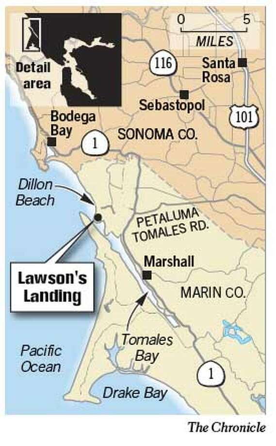 Lawson's Landing. Chronicle Graphic