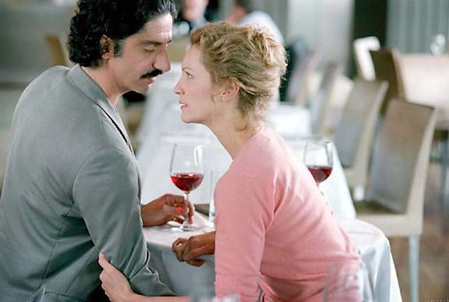"Simon Abkarian and Joan Allen in Sally Potter's ""Yes"""