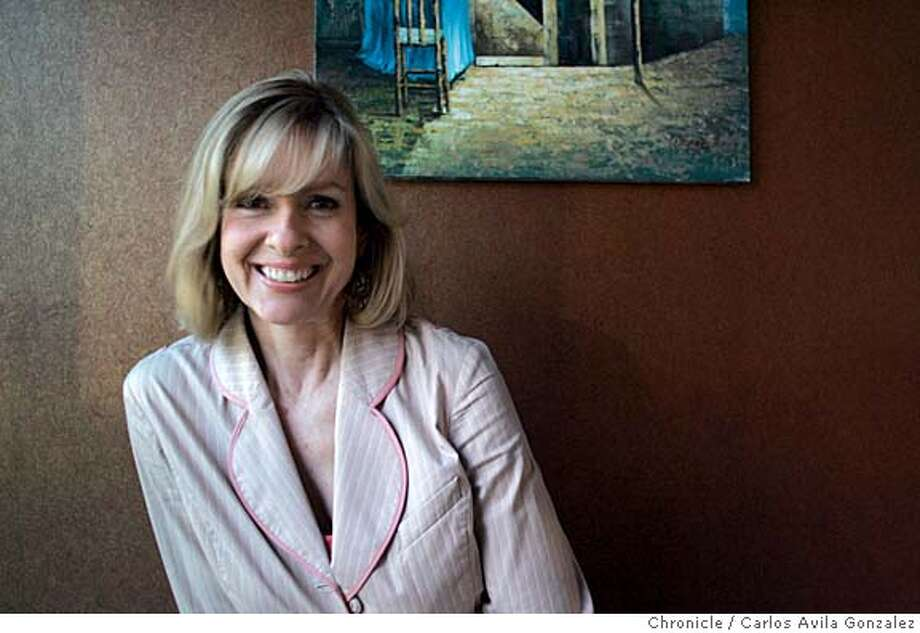 ATHEIST20_001_CAG.JPG  Ellen Johnson, president of American Atheists, will be in town for a speech and to meet and greet faithless faithful.  Photo by Carlos Avila Gonzalez/The San Francisco Chronicle  Photo taken on 05/19/05, in Brisbane, Ca. Photo: Carlos Avila Gonzalez