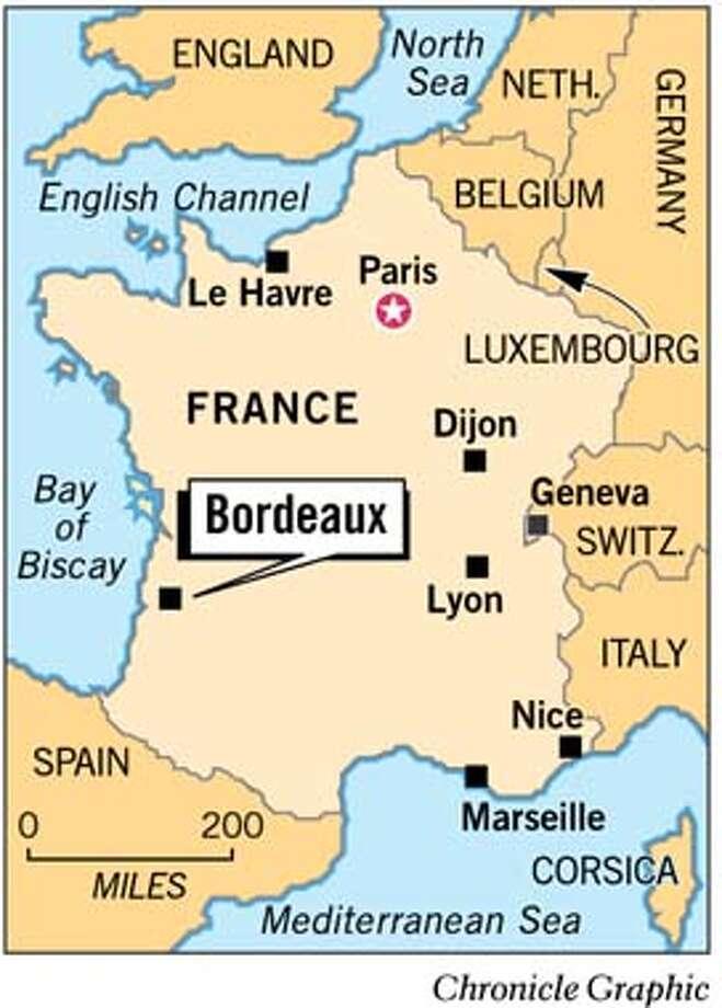 Bordeaux, France. Chronicle Graphic