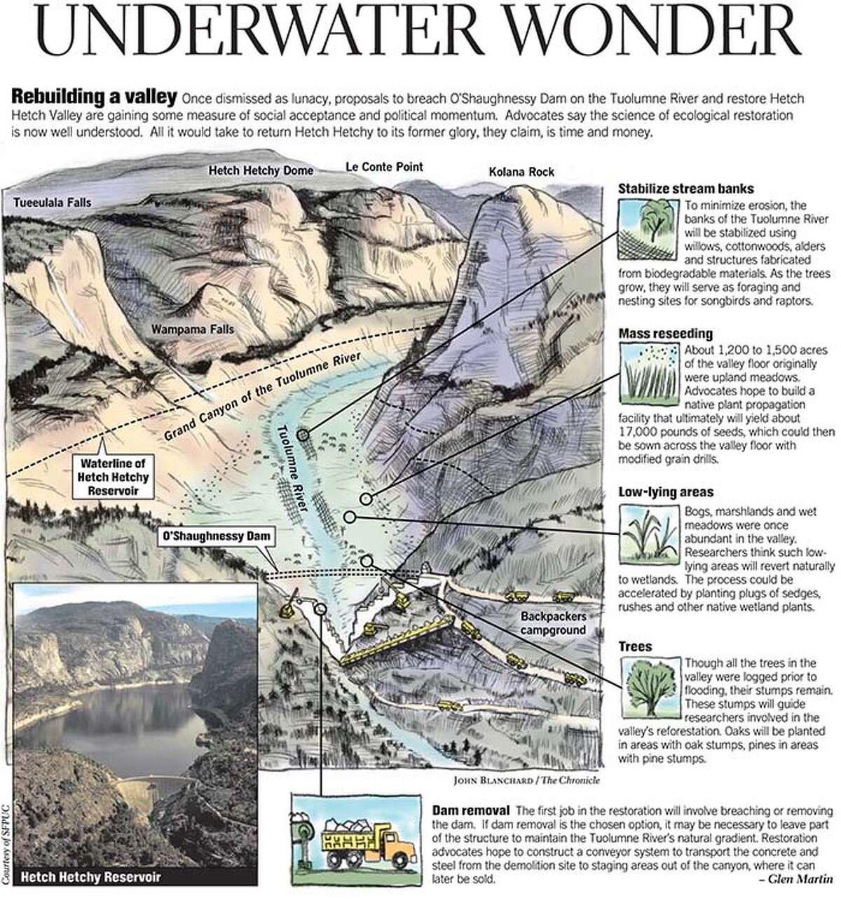 Underwater Wonder. Chronicle graphic by John Blanchard