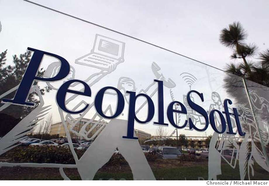 peoplesoft067.JPG When Oracle sweetened its bid for PeopleSoft yesterday, it made it more likely that the deal could actually happen. A visit to the Pleasanton headquarters og the company to speak with a few employees abouit how they fell about the possible transaction. event on 2/5/04 in Pleasanton Michael Macor / The Chronicle Mandatory Credit For Photographer and SF Chronicle/ - Magazines Out Business#Business#Chronicle#11/21/2004#ALL#5star##0421605605 Photo: Michael Macor