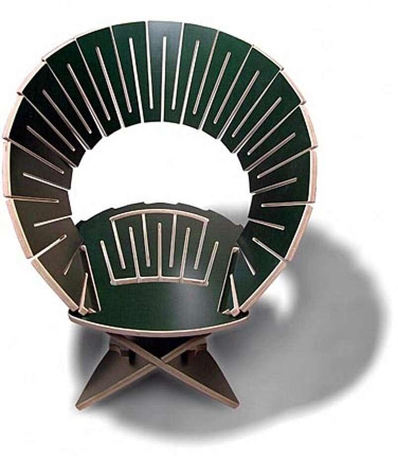 Photo of a FanNebula chair by Gregg Fleishman.