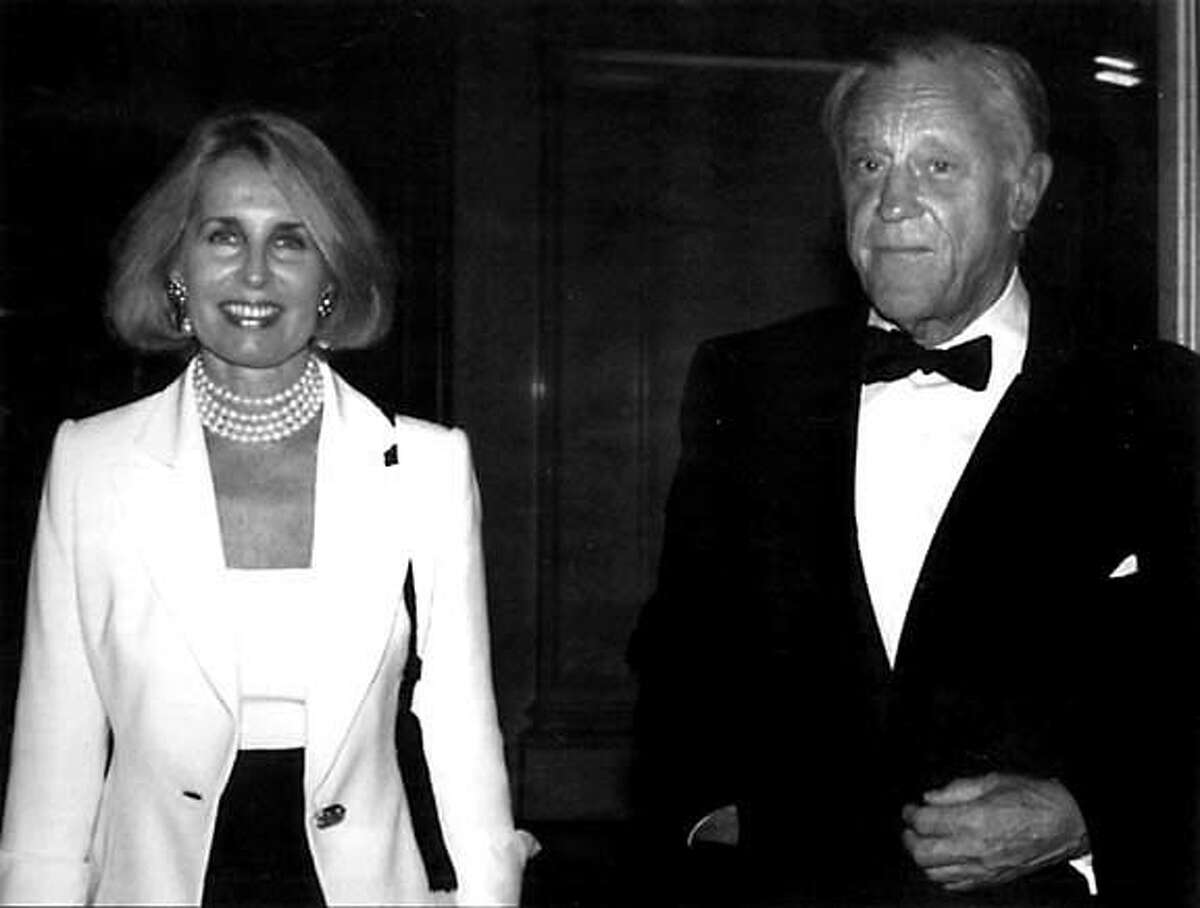 Sally Quinn and Ben Bradlee attend a Library of Congress gala in 1997. (The bicentennial was in 2000, but the 1997 event was the first of several that would be held over the next three years). Photo for the Library of Congress by N. Alicia Byers