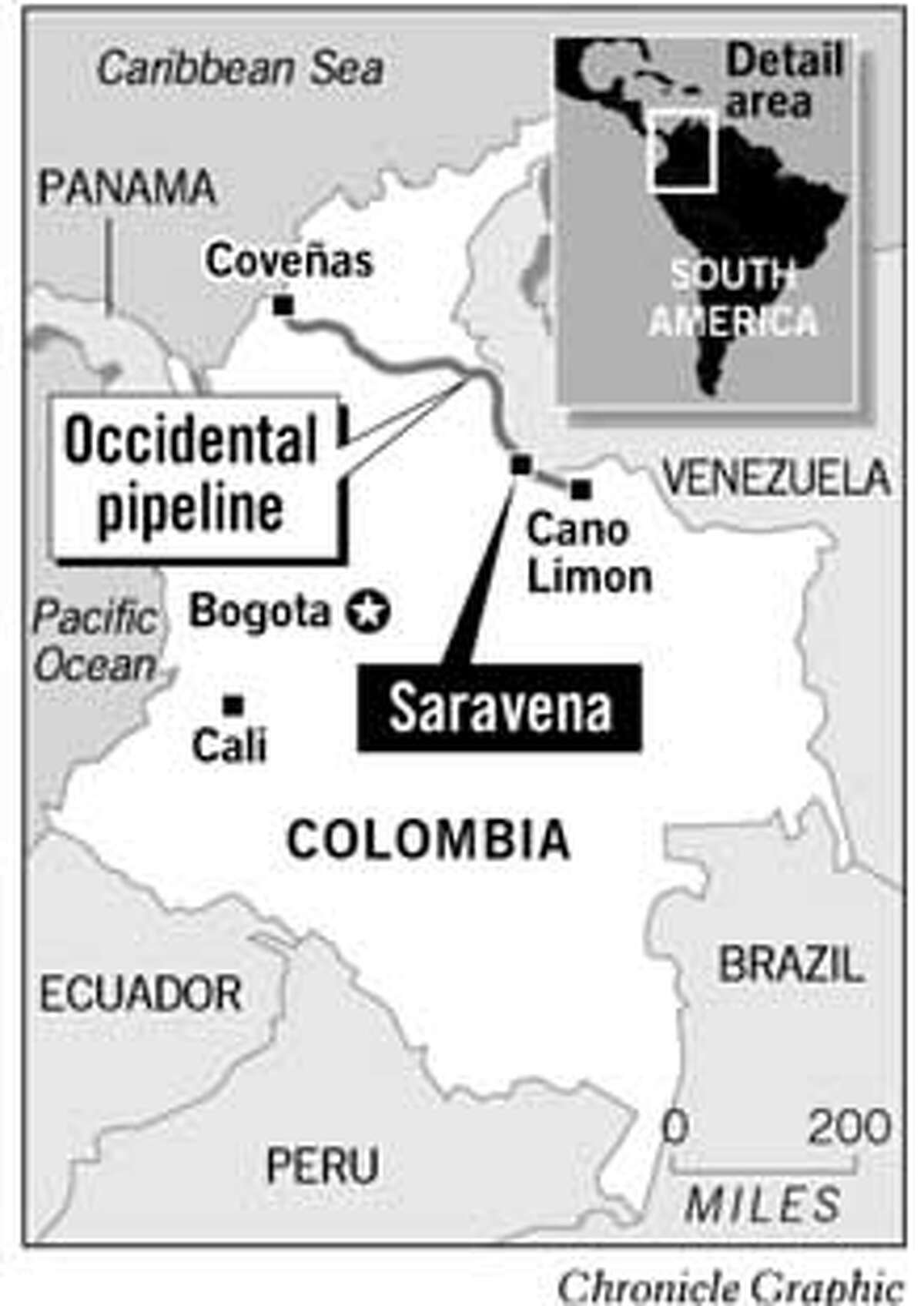 Colombia. Chronicle Graphic