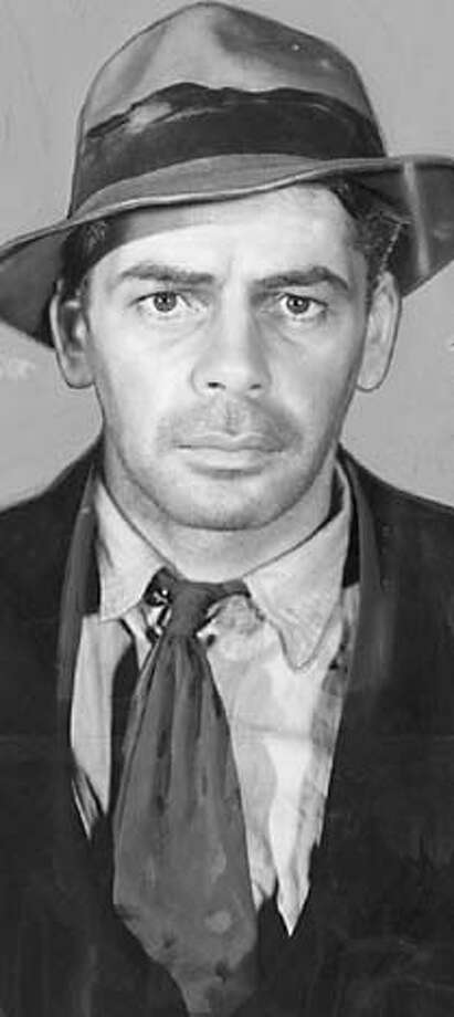 "Paul Muni in "" I am a fugitive from a chain gang"