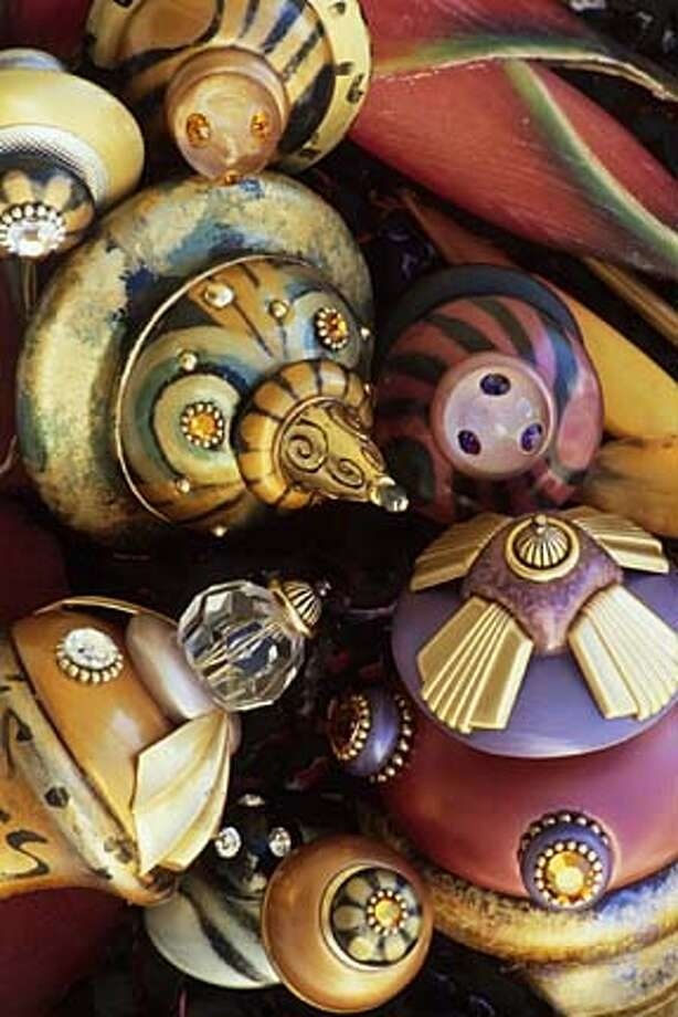 Susan Goldstick's decorative knobs will be on sale in Sausalito this weekend.