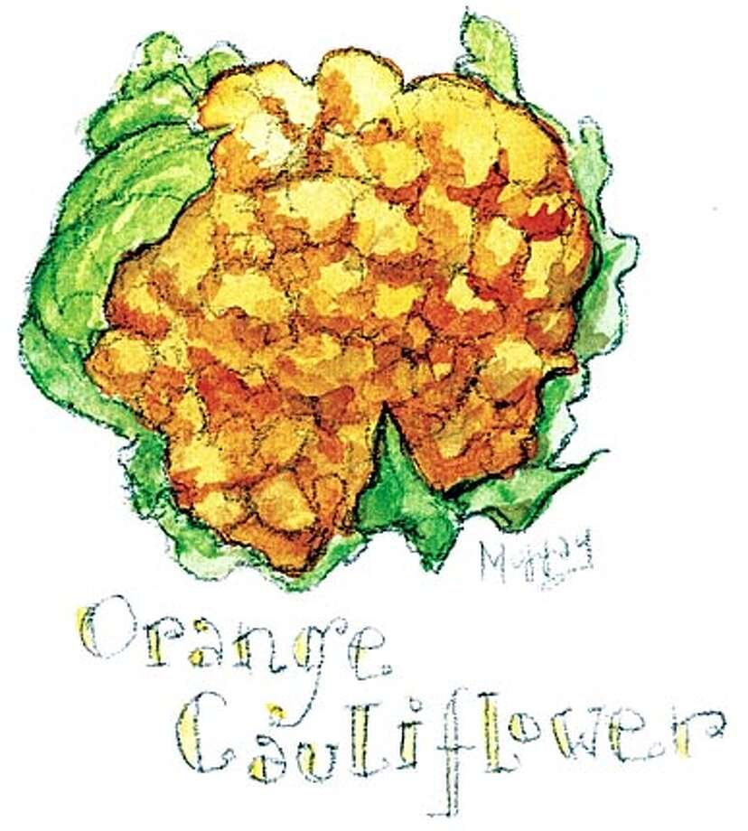 orange cauliflower Photo: Tom Murray