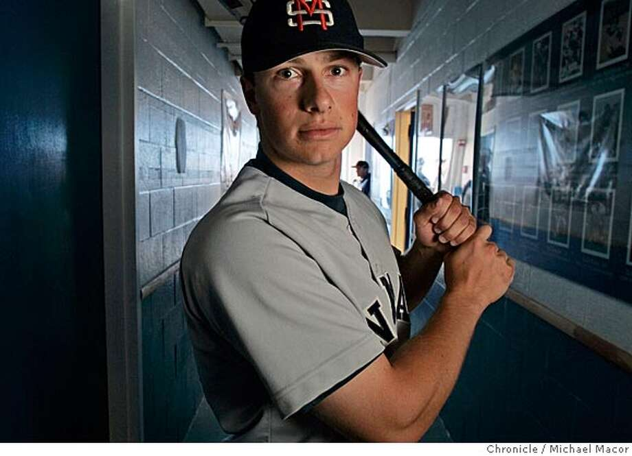 Daniel Nava is a hot-hitting right fielder and a 2004 J.C. All-American at College of San Mateo. The muscular former star at St. Francis of Mountain View is hitting .380 with four home runs and 30 RBIs this season. He's drawn 35 walks, meaning people are scared to face the switch-hitting No. 3 hitter. 5/5/05 San Mateo, Ca Michael Macor / San Francisco Chronicle Photo: Michael Macor