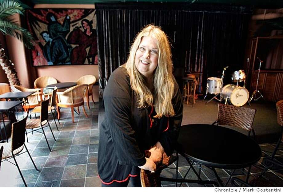 Anna De Leon, a former elected Berkeley city official, is opening a jazz club downtown called Anna's Jazz Island. It promises to feature nightly live music. Mark Costantini/San Francisco Chronicle Photo: Mark Costantini