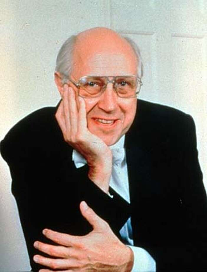 Conductor Mstislav Rostropovich HANDOUT PHOTO/VERIFY RIGHTS AND USEAGE Photo: HANDOUT