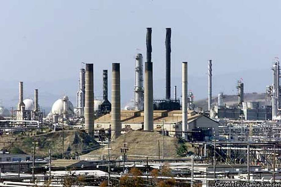 The General Chemical refinery in Richmond was shut down after a chemical spill tuesday. By LANCE IVERSEN/SAN FRANCISCO CHRONICLE Photo: LANCE IVERSEN